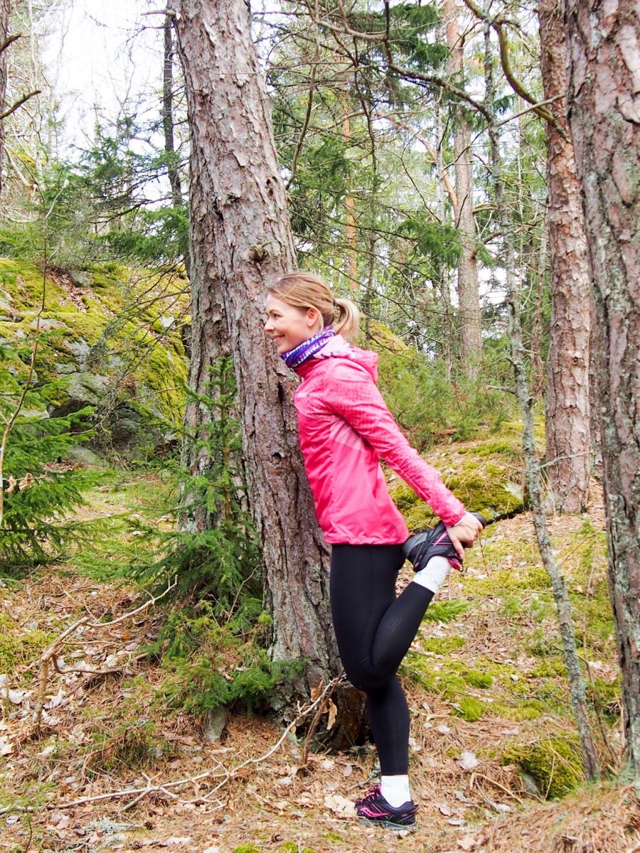Løpetur i skogen