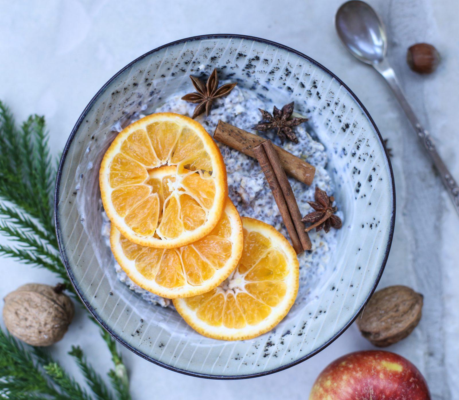 Spis magen flat frokostgrøt